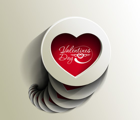 valentine's day, vector illustration.