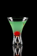 Appletini - Most popular cocktails series