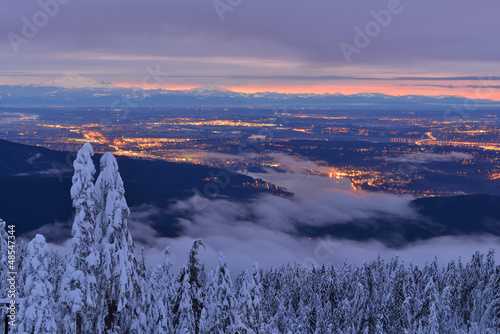 Mt Seymour Winter Sunrise