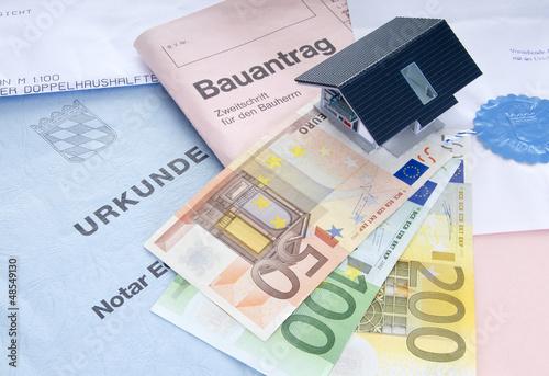 Hauskauf: Unterlagen und Finanzen