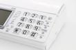 白い電話機