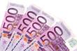 Quatre billets de 500 euros