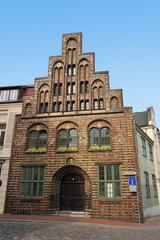 Altes Fachwerkhaus Rostock Altstadt