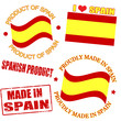 Product of Spain stamps