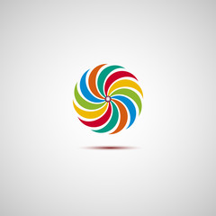 Colorful logo