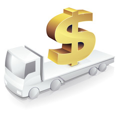 Transport costs in dollar