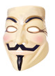 V for Vendetta halloween mask cutout