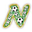 N -FOOTBALL  LETTER