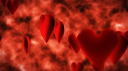 blood cells in vein