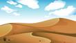 A desert