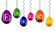Frise oeufs couleur - Easter - Pâques