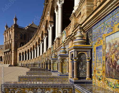 plaza espagna, andaloucia, sevilla