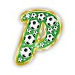 P -FOOTBALL  LETTER