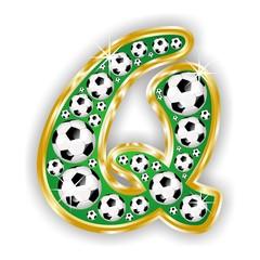 Q -FOOTBALL  LETTER