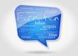 Bulle : Nuage de mots Formation