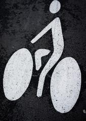 signalisation de la piste cyclable