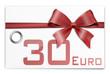 Gutschein Geschenkkarte 30 Euro