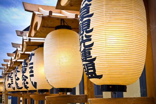 japanese lanterns - 48557585