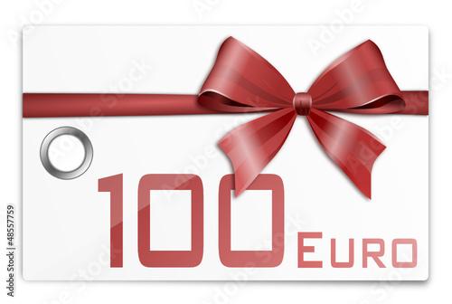 Gutschein Geschenkkarte 100 Euro