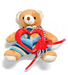 teddy bear and valentine's day