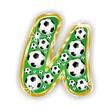 U -FOOTBALL  LETTER