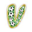V -FOOTBALL  LETTER