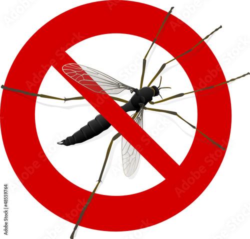 Interdiction aux moustiques