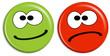 Smilies - positiv und negativ