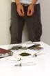 逮捕された麻薬の密売人