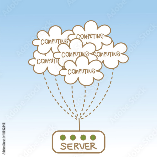 abstract of cloud computing server