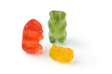 Gummy bear story 6 - helpless parents with a spoilt child poster