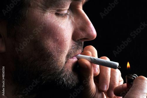 Fumeur de joint
