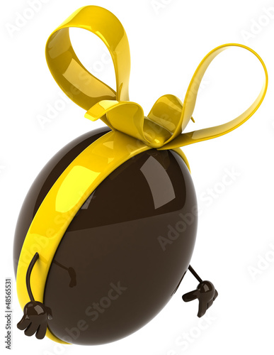 Fun chocolate egg