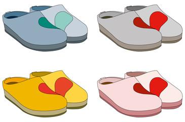 pantofole a San Valentino