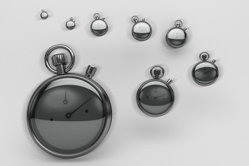 Cronometri, scadenze, tempo, denaro, business