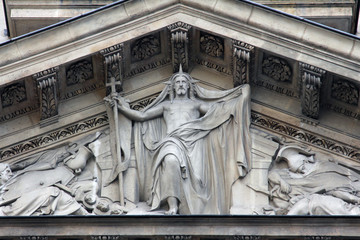 Risen Christ, Saint Etienne du Mont Church, Paris.