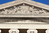 Fronton sculpté du Palais de Justice de Marseille