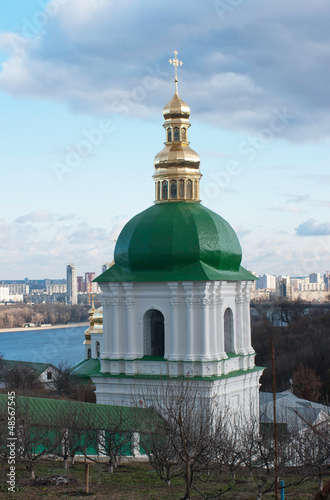 Bell tower in Kiev-Pechersk Lavra, monastery in Kiev