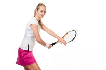Rückhandschlag beim Tennis