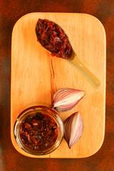 Red onion chutney
