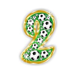 2 -FOOTBALL  NUMBER