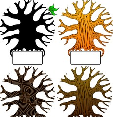 four vector tree