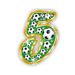 5 -FOOTBALL  NUMBER