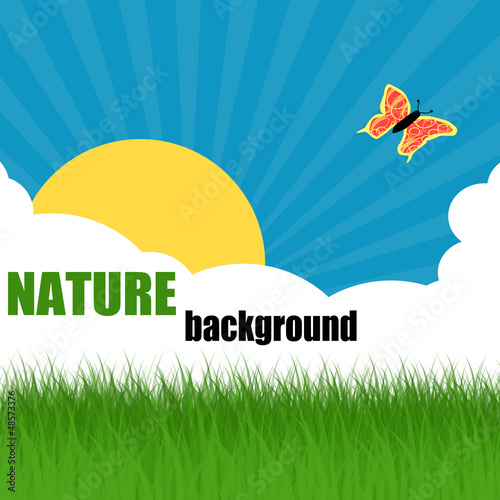 Nature ecology poster