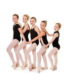 Ballet Student Dancer Friends Lineup