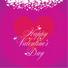 Valentines day background. Heart.