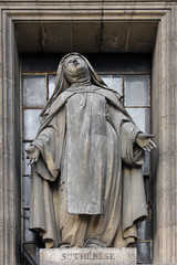 Saint Teresa, Madeleine church in Paris