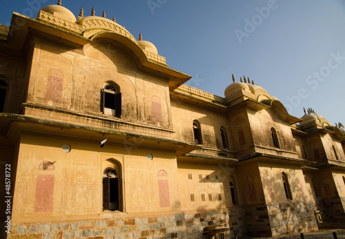 Facade of Nahargarh Fort, Jaipur.