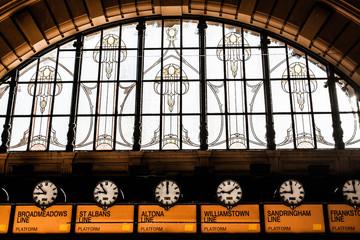 Flinders Street Station . Australia, Melbourne.