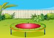 A trampoline